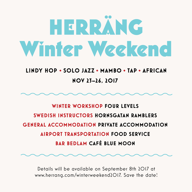 Herräng Winter Weekend 2017, Nov 23-26